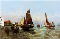 sailing- ships by georg fischhof