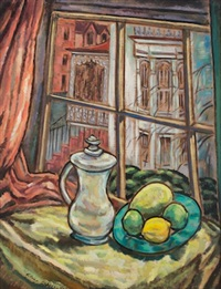 still life with window by alice stanley acheson
