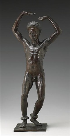 an african dancer by richmond barthe