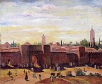 les remparts, maroc by marguerite allar