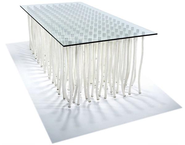 org consoledining table by fabio novembre