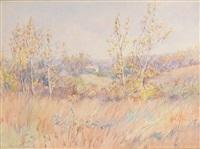 autumn landscape by hamilton hamilton