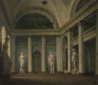 l'intérieur ave des sculptures by ivan vasil'ev
