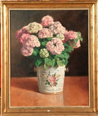 hortensias by victor abeloos