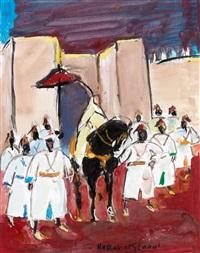la sortie du pacha by hassan el glaoui
