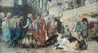 scène de martyre au cirque by teofilo augimeri