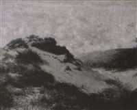 sand dunes near swansea by harry william adams