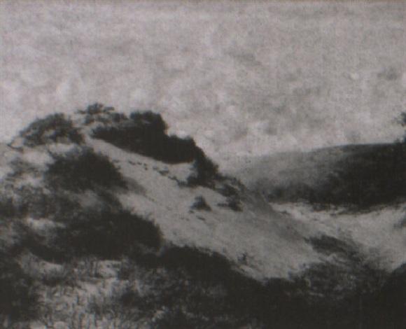sand dunes near swansea by harry william adams