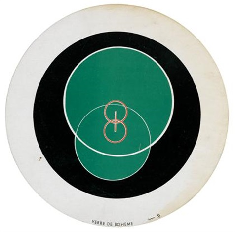 rotorelief disc no 7 8 and cahiers dart volc xi by marcel duchamp