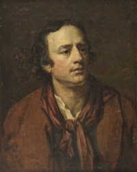 portrait of a gentleman (alexander pope?) by james barry