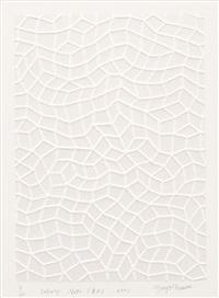 infinity nets (ba) by yayoi kusama