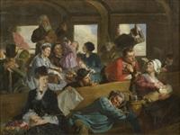 le voyage de troisième classe by clément-auguste andrieux