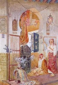femme orientale et sa servante by paolo simoni