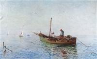 matin de pêche by louis nattero