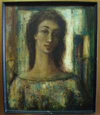 portrait de femme by guy cambier