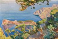 paisaje de mallorca by joan fuster bonnin