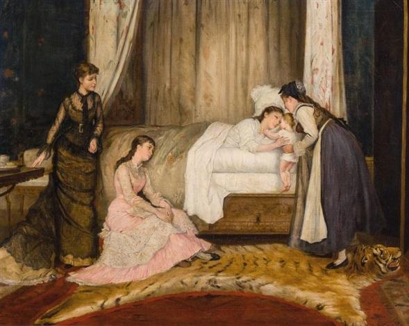 la jeune mère by gustave léonhard de jonghe