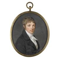 portrait of a gentleman by pierre louis bouvier