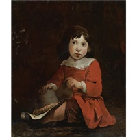 portrait of a young boy by jan van noordt