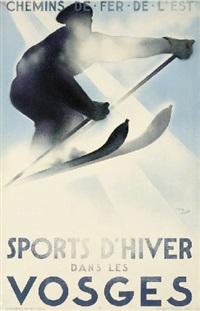 sports d'hiver dans les vosges by theo doro