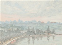 swan river by rene collot d' herbois