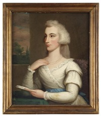 portrait of anne willing bingham (1764-1801) by ralph earl