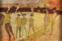 bullfighters by earl haig