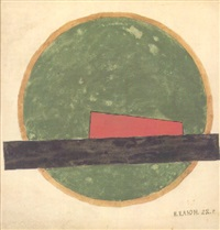 suprematist composition by ivan vasilievich klyun