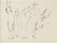 senza titolo by george grosz