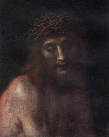 cristo coronato di spine by cesare dandini