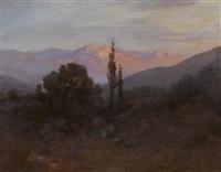 sunset's rosy glow by john bond francisco