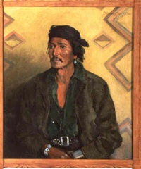 hoteen isosie, navajo by marion boyd allen