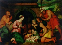 the adoration of the shepherds by francisco collantes