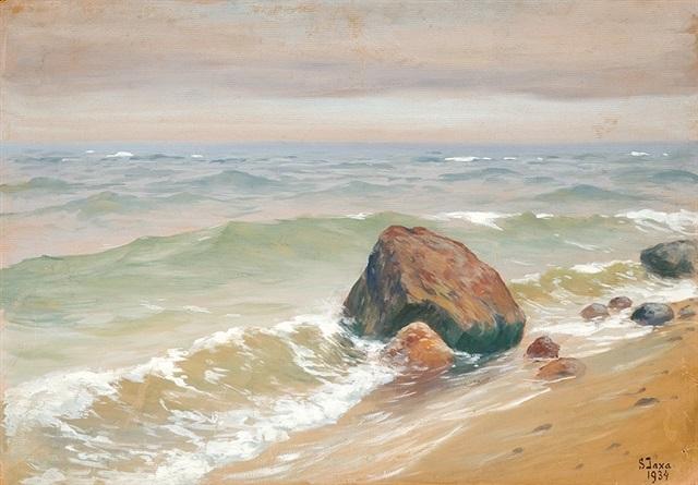 seashore by soter jaxa malachowski
