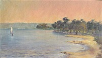 swan river view by bertie mengler