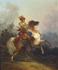 cavalier by francesco giuseppe casanova