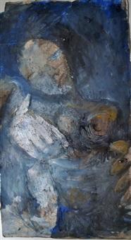 composition avec un personnage by ida karskaya