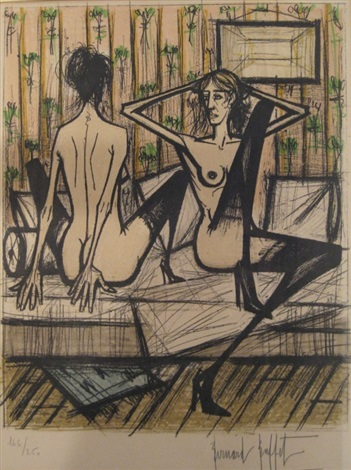 nudes by bernard buffet
