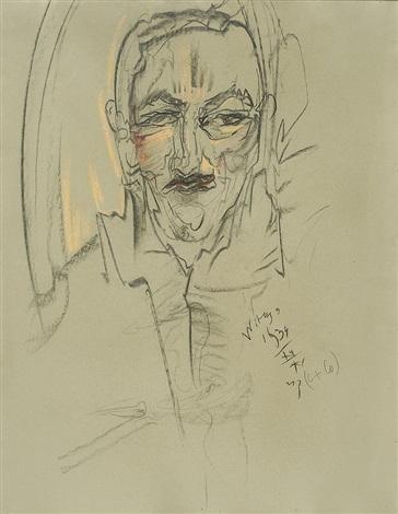 jan glogowski portrait xii by stanislaw ignacy witkiewicz