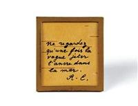 aphorisme autograph by rené char