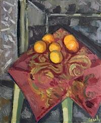 nature mortes aux oranges by jean couty