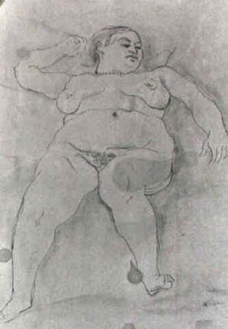 modella nuda by scipione gino bonichi
