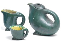 teeservice (set of 3) by franz xaver iskra