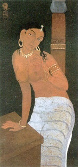female nude by ajit gupta