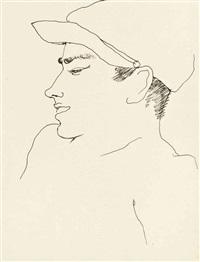 jeune homme au chapeau by jean cocteau