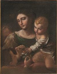 madonna con bambino e due figure in adorazione by anonymous-italian-bolognese (17)