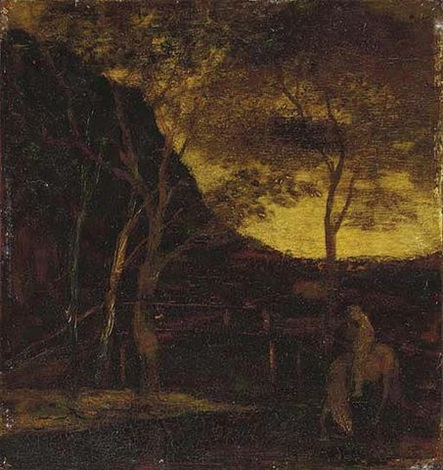at the ford by albert pinkham ryder