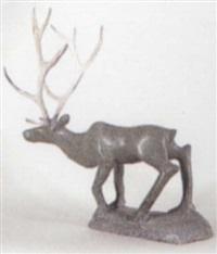 caribou by elijah pootoogook