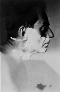 man ray shaving by lee miller