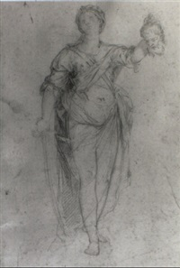 judith with the head of holofernes by giacomo zoboli